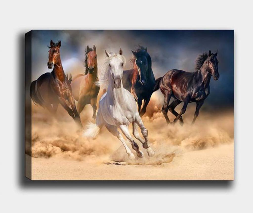 Tablou Horse 40x60 cm - Tablo Center, Multicolor