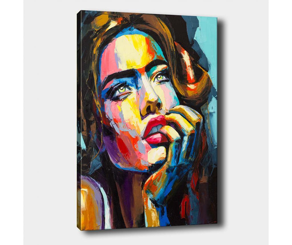 Tablou Woman 100x140 cm - Tablo Center, Multicolor de la Tablo Center