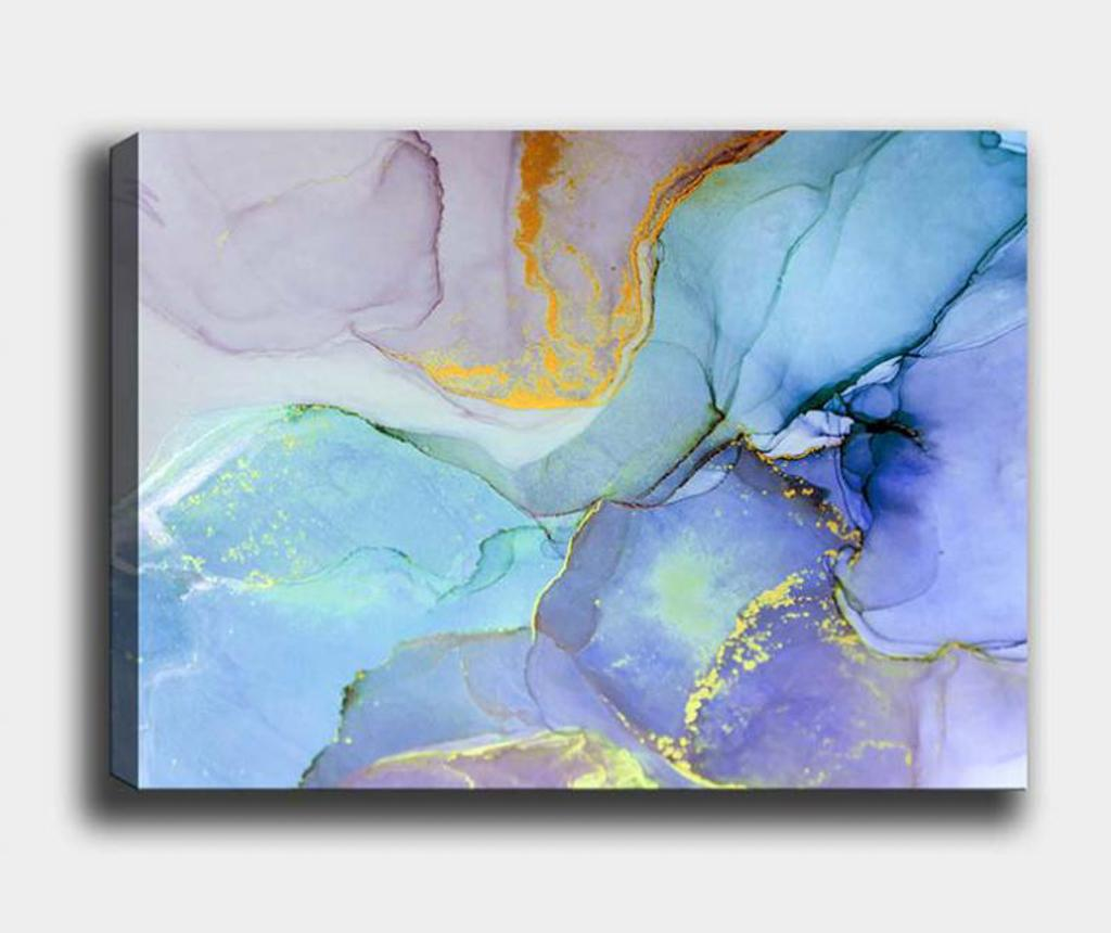 Tablou Petals 70x100 Cm - Tablo Center, Multicolor
