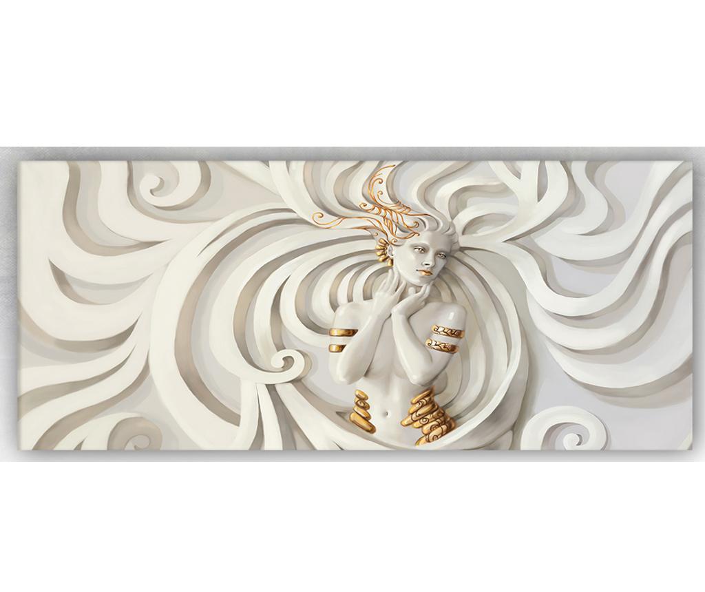 Tablou Sculpture Woman 60x140 cm