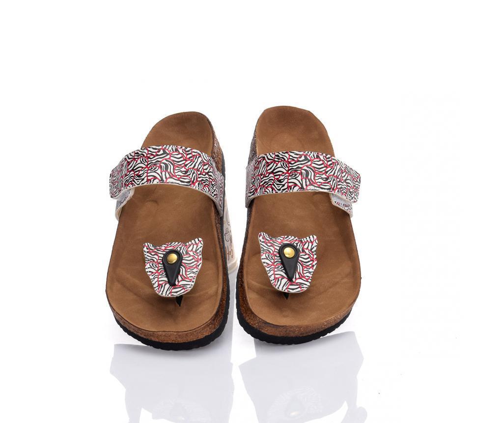 Papuci de plaja dama Abstract 39 - CELLA, Multicolor
