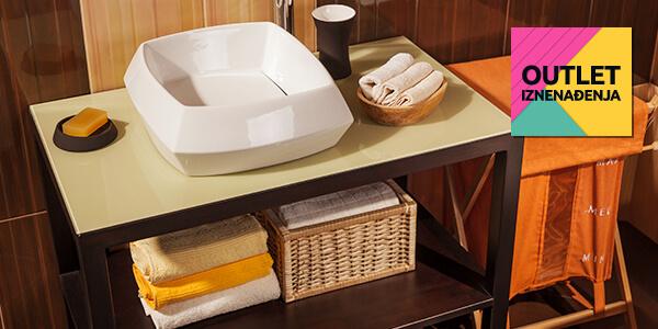 Outlet Iznenađenja: Kupaonica i organiziranje