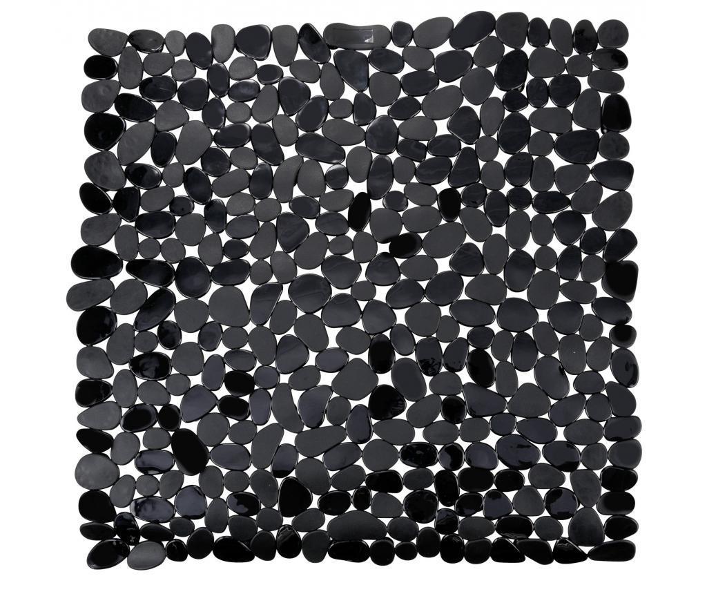Covor de cada Paradise Black 54x54 cm - Wenko, Negru