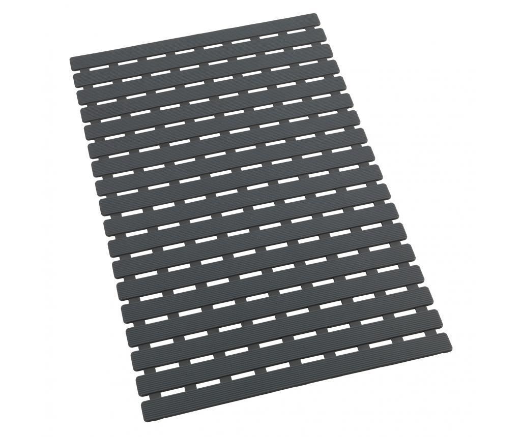 Covoras pentru cada Arinos Grey 40x63 cm - Wenko, Gri & Argintiu