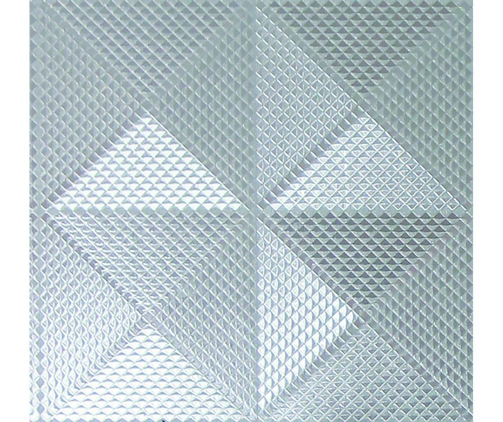 Tapet Geo Diamond Foil Silver 53x1005 cm - Arthouse