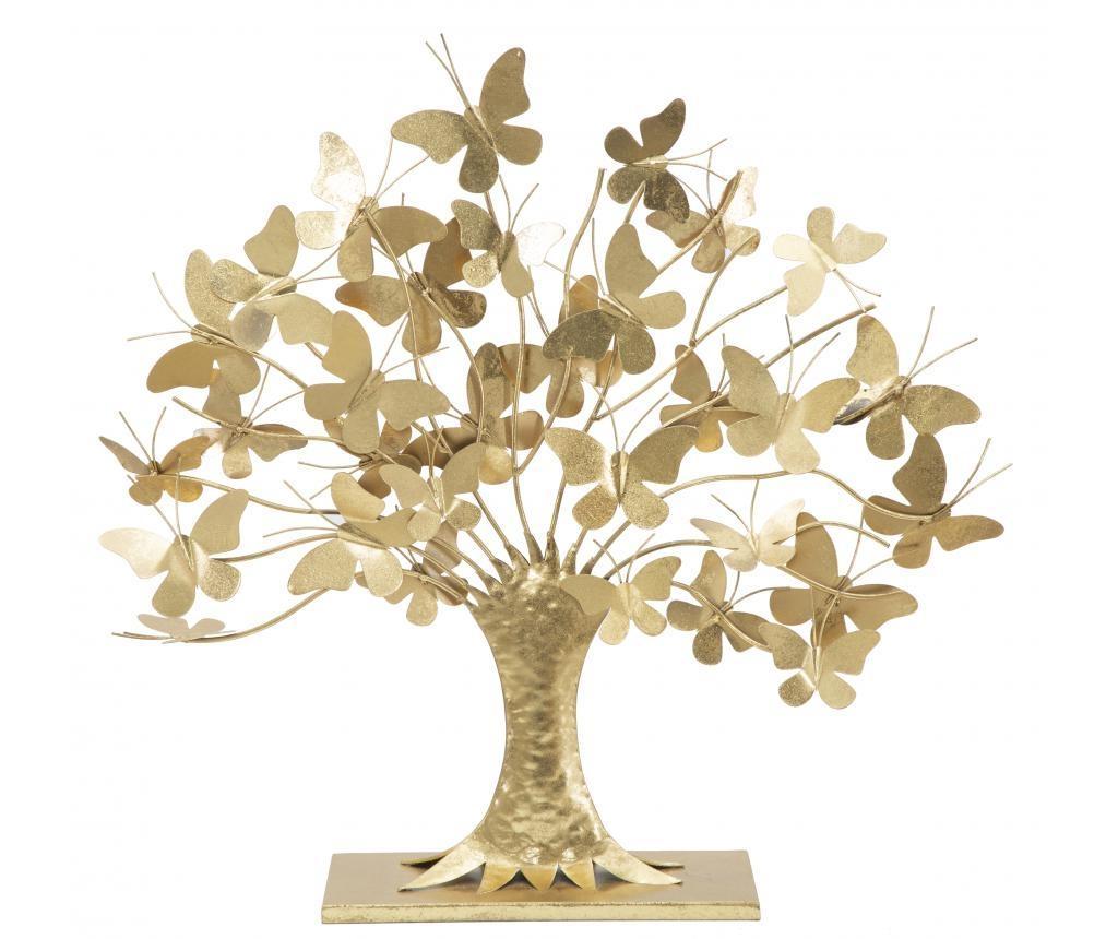 Decoratiune Glam Galben Auriu