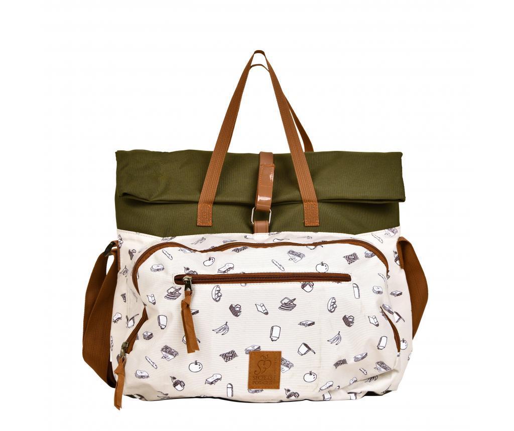 Rucsac echipat pentru picnic 4 persoane - Esschert Design, Multicolor
