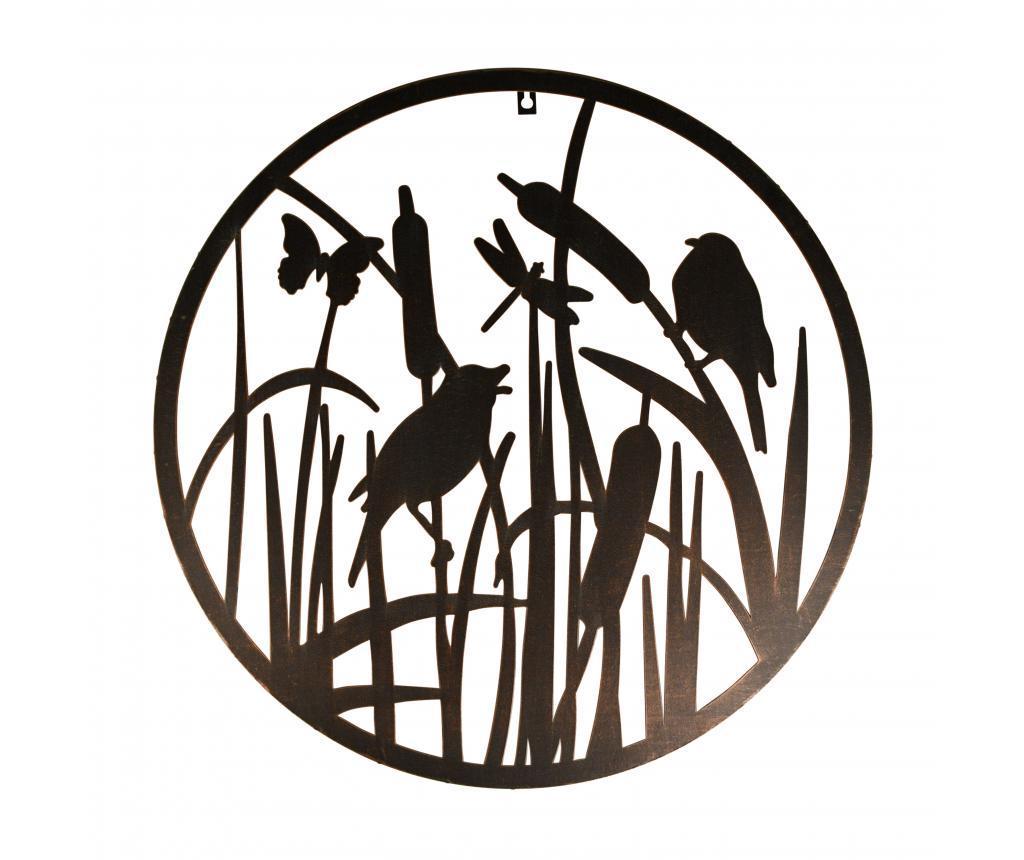 Decoratiune de perete Rour Birds - Esschert Design, Negru