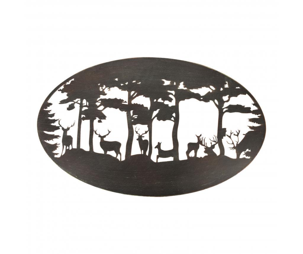 Decoratiune de perete Ovar Deer - Esschert Design, Negru de la Esschert Design