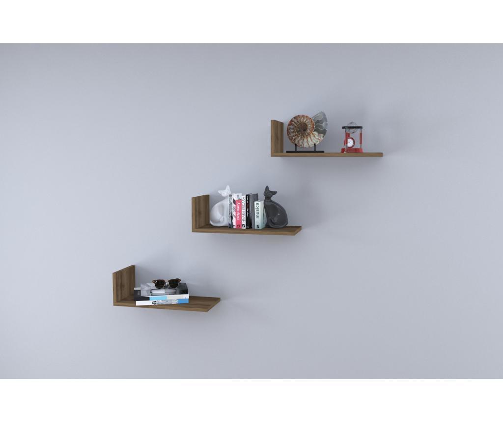 Set 3 rafturi de perete - Oyo Concept, Maro