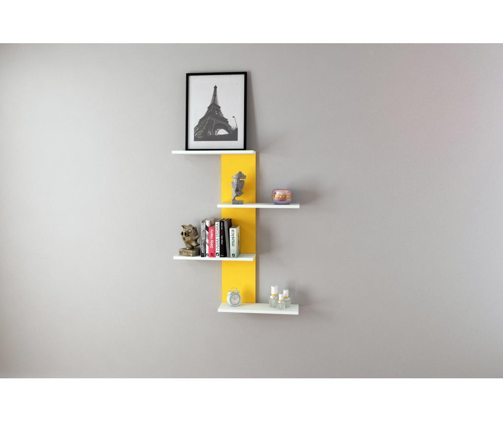 Raft de perete - Oyo Concept, Galben & Auriu