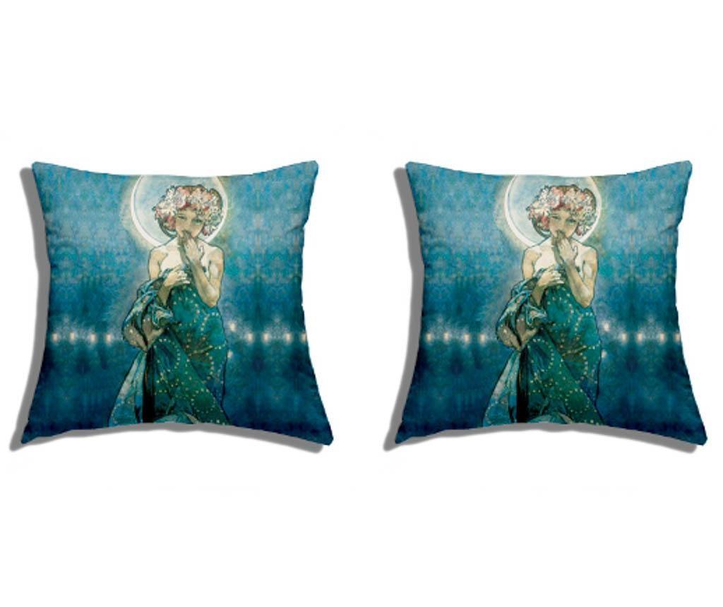 Set plahta i jastučnica Single Mucha La Luna