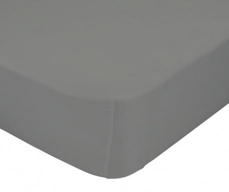 Plahta s elastičnom gumicom Basic Stone 90x200 cm