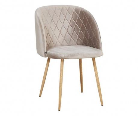 Stol Makro Warm-Grey Velvet
