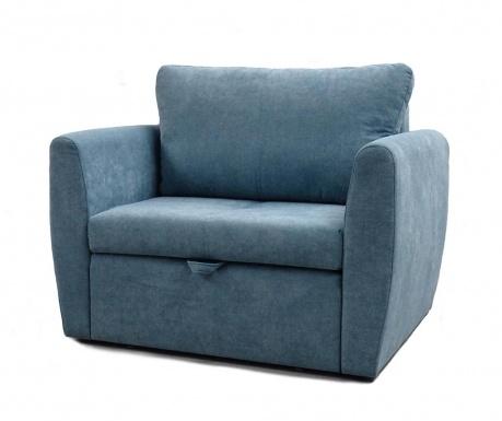 Bella Blue Kihúzható fotel