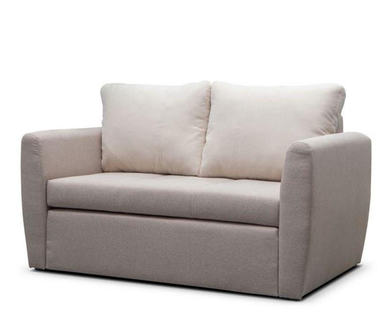 Разтегателен диван за 2 места Bella Beige