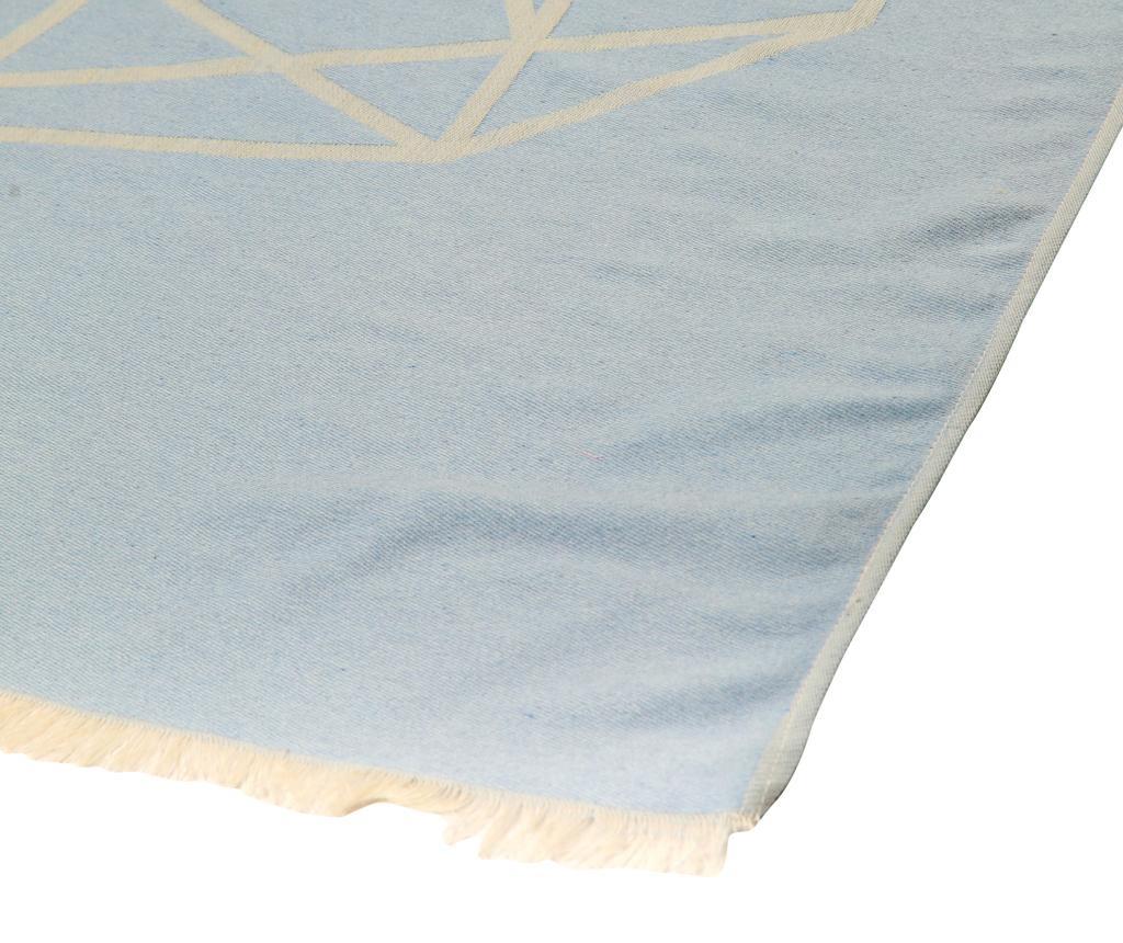 Prosop de plaja Elephant Blue 100x180 cm