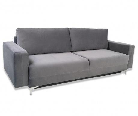 Marsylia Dark Grey Háromszemélyes kihúzható kanapé