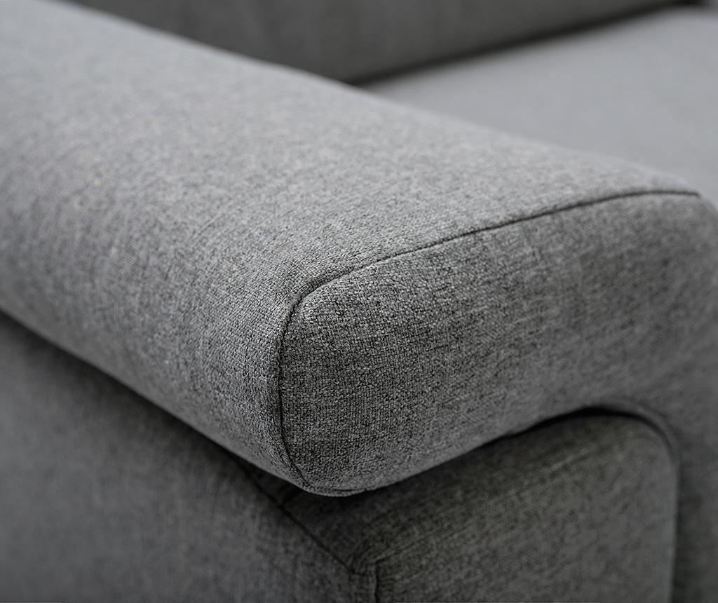 Разтегателен ъглов диван Vermont Grey