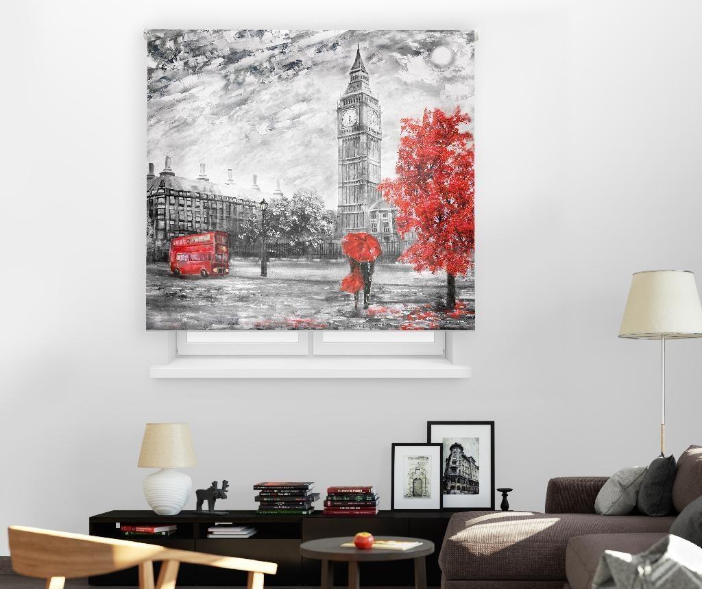 Rolo zastor London Art 180x180 cm