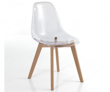 Set 2 stolice Kiki Evo Clear