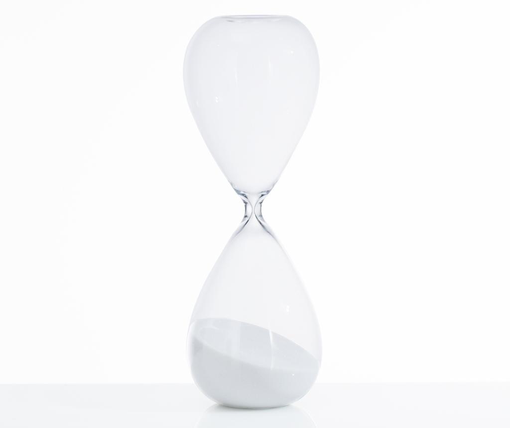 Пясъчен часовник Tomtime 60 White