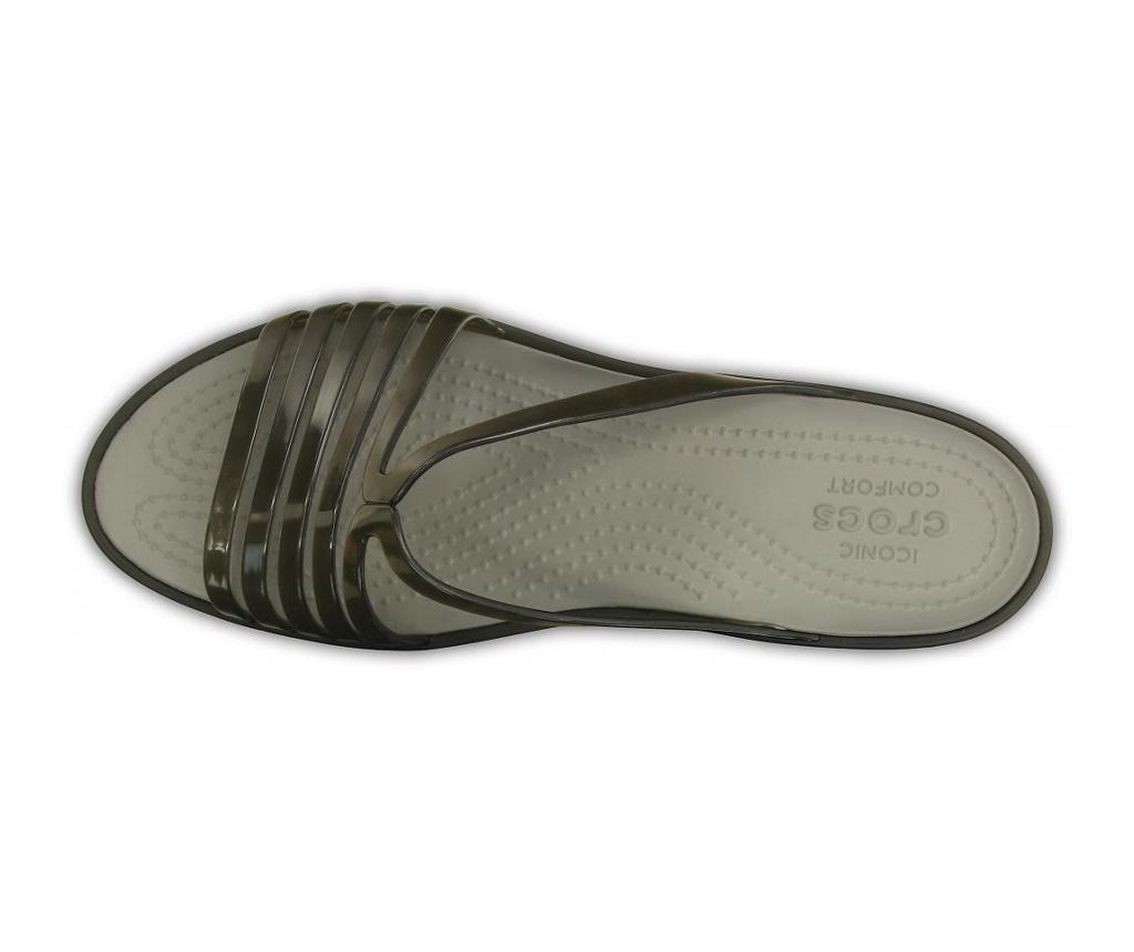 Ženski sandali Crocs Isabella Mini Wedge Black 38-39