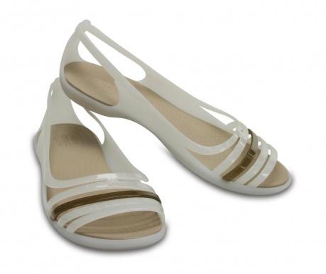 Ženski sandali Crocs Isabella Huarache Flat White 41-42