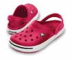 Unisex cokle Crocband II Red 39-40