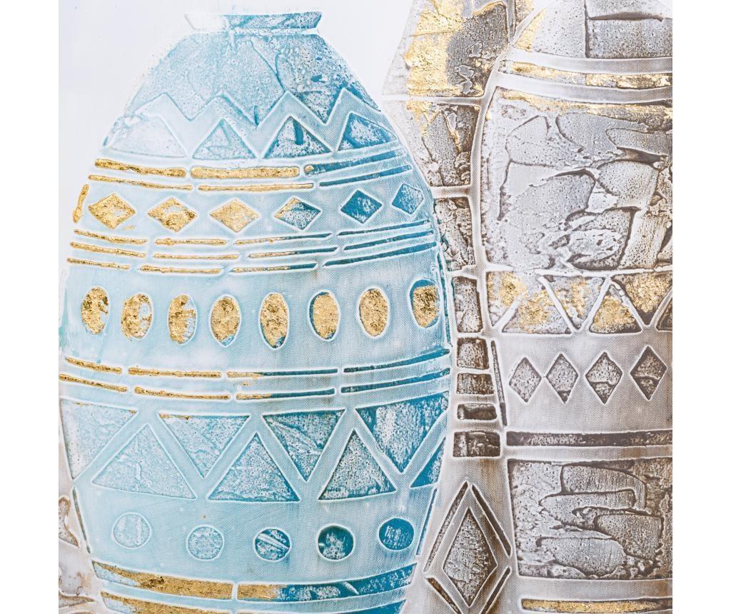 Slika Vases 50x100 cm