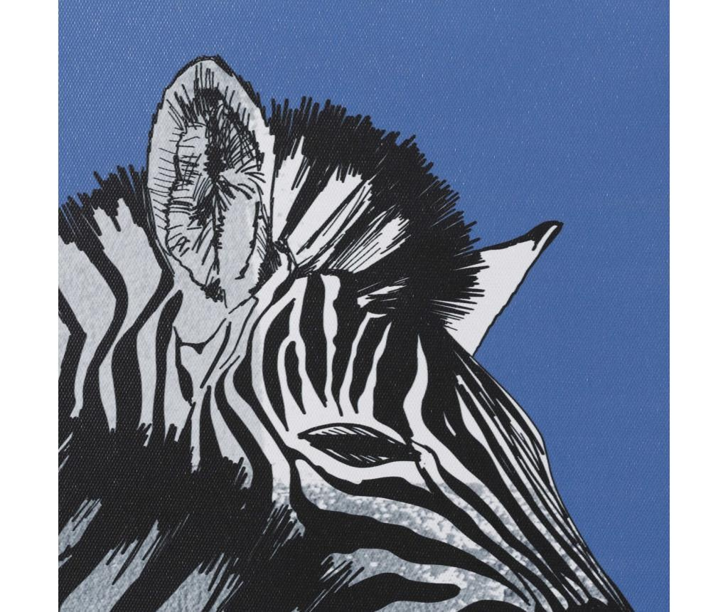 Zebra 2 db Kép 60x60 cm