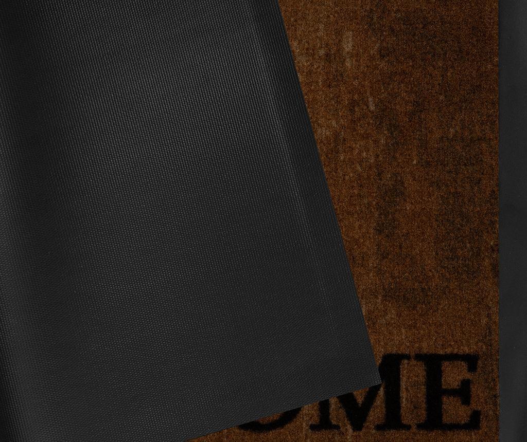 Printy Style Brown Anthracite Lábtörlő szőnyeg 45x75 cm