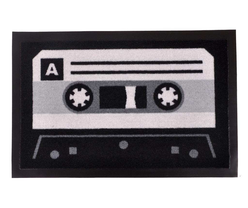 Covoras de intrare Printy Tape Grey Black 40x60 cm