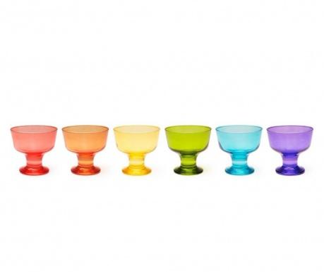 Sada 6 pohárov na zmrzlinu Bilbao