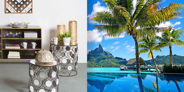 S myšlienkami na Bora Bora
