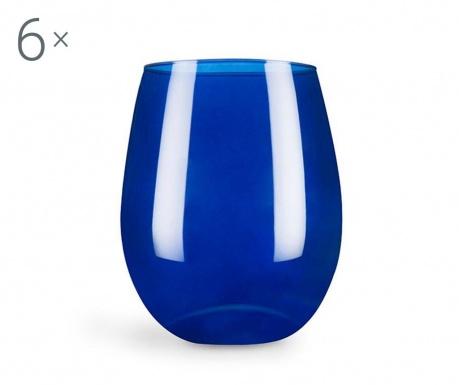Set 6 čaša Cobalto 390 ml