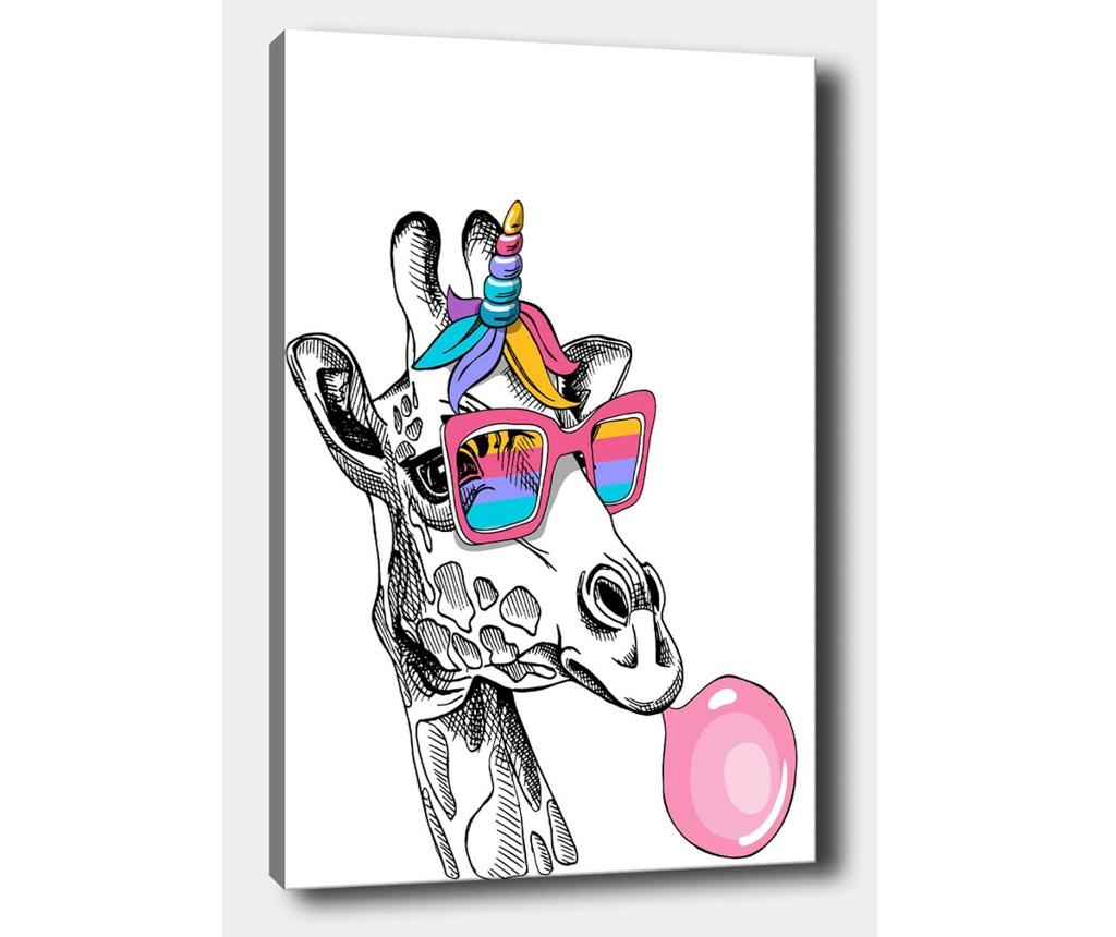Giraffe Baloon Kép 50x70 cm