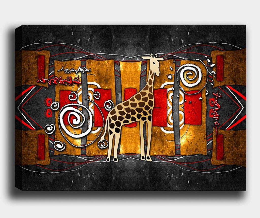 Slika Giraffe 100x140 cm