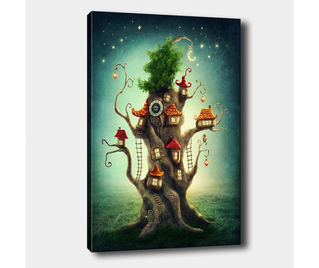 Slika Tree House 70x100 cm