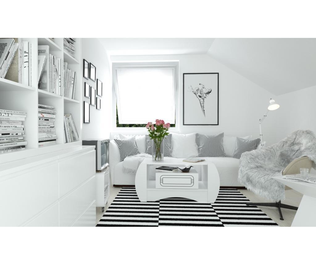 Set 3 piese de mobilier Esparo White