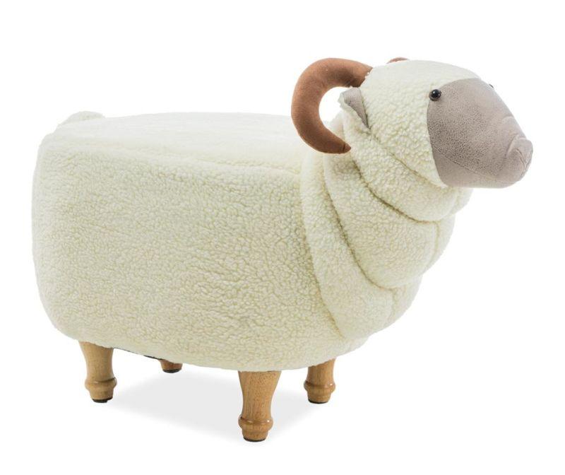 Pufa dla dzieci Lamb