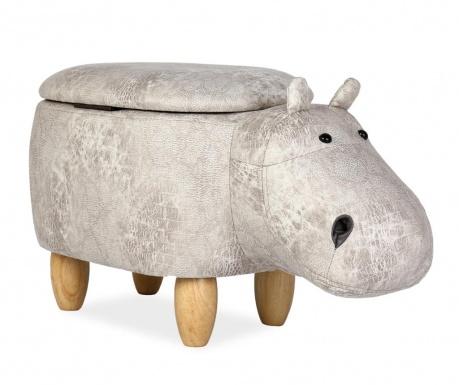Dětský sedací puf Hippopotamous