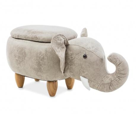 Dětský sedací puf Elephant
