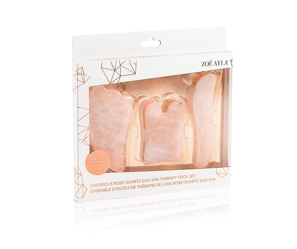Set 3 Gua Sha Therapy Pink