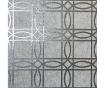 Fototapeta Geo Charcoal Grey Kiss Foil 53x1005 cm