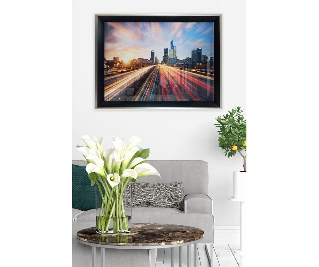 Slika City Light Highway 35x45 cm