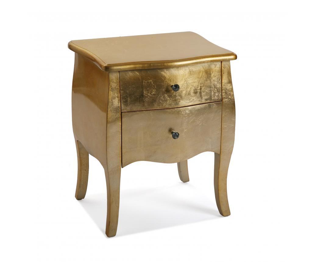 Nočna omarica Cagliari Golden