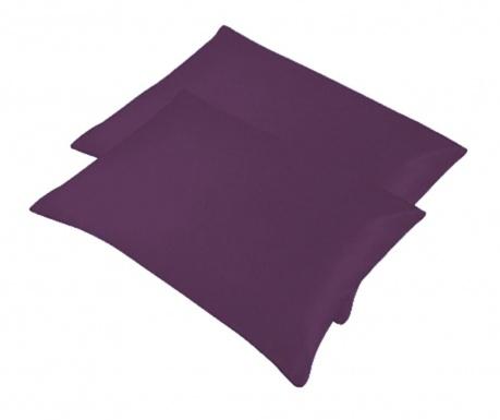 Set 2 jastučnice Bogo Dark Purple 50x70 cm