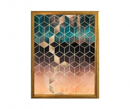 Πίνακας Cubes 23x33 cm