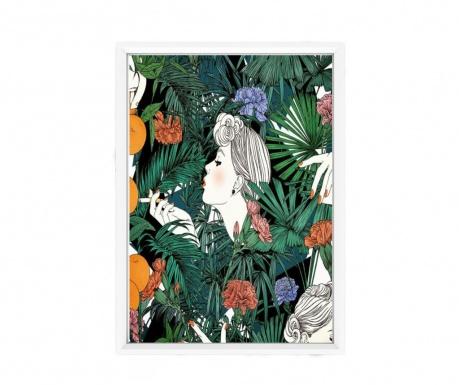 Πίνακας White Frame 23x33 cm